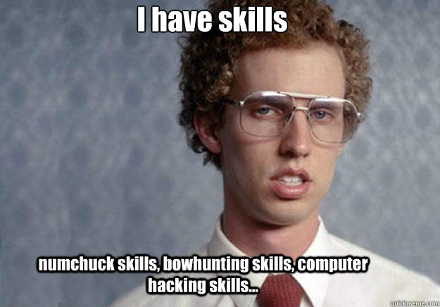 Skills Meme