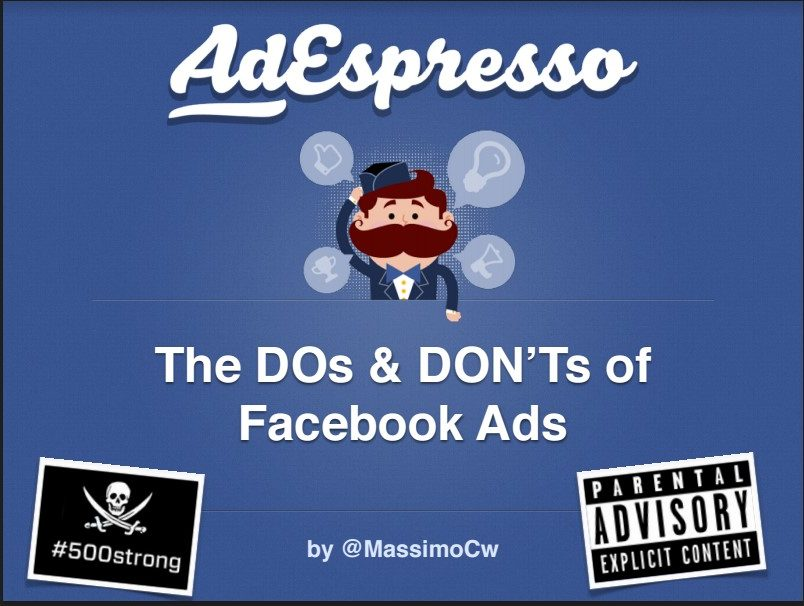 Dos and donts of facebook ads